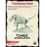 Gale Force 9 D&D Collector's Series: Tyrannosaurus Zombie
