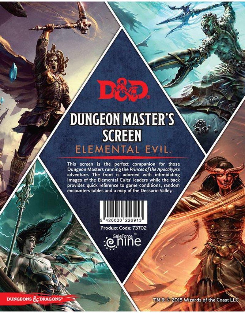 Gale Force 9 D&D DM Screen - Elemental Evil