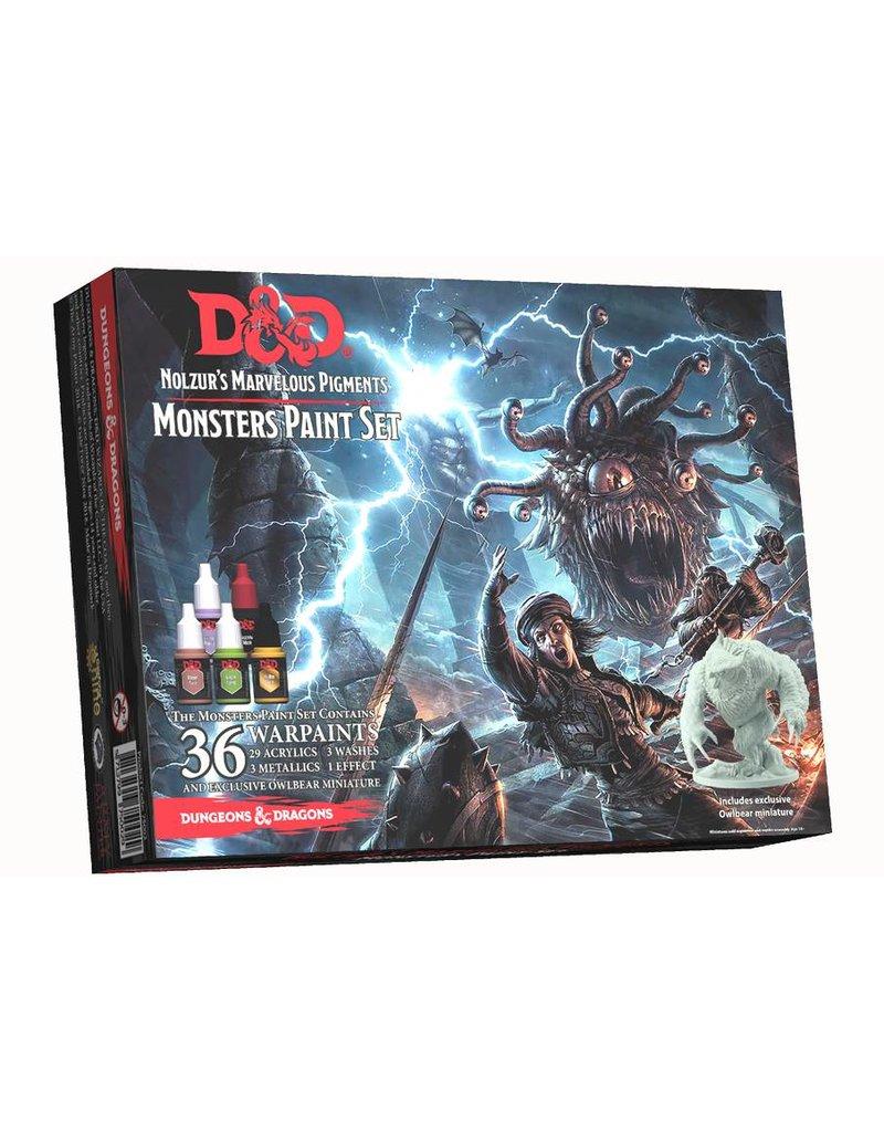 Gale Force 9 Nozulr's Marvelous Pigments - Monster Paint Set