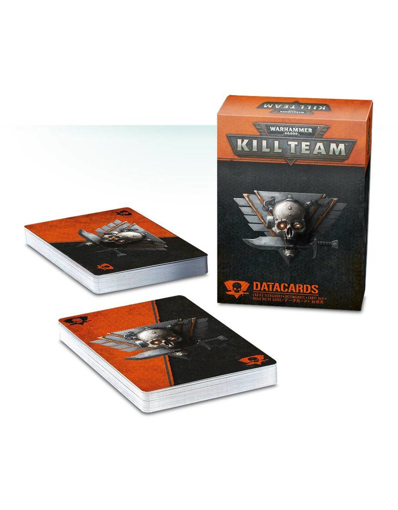 Games Workshop Warhammer 40k Kill Team: Data Cards (EN)