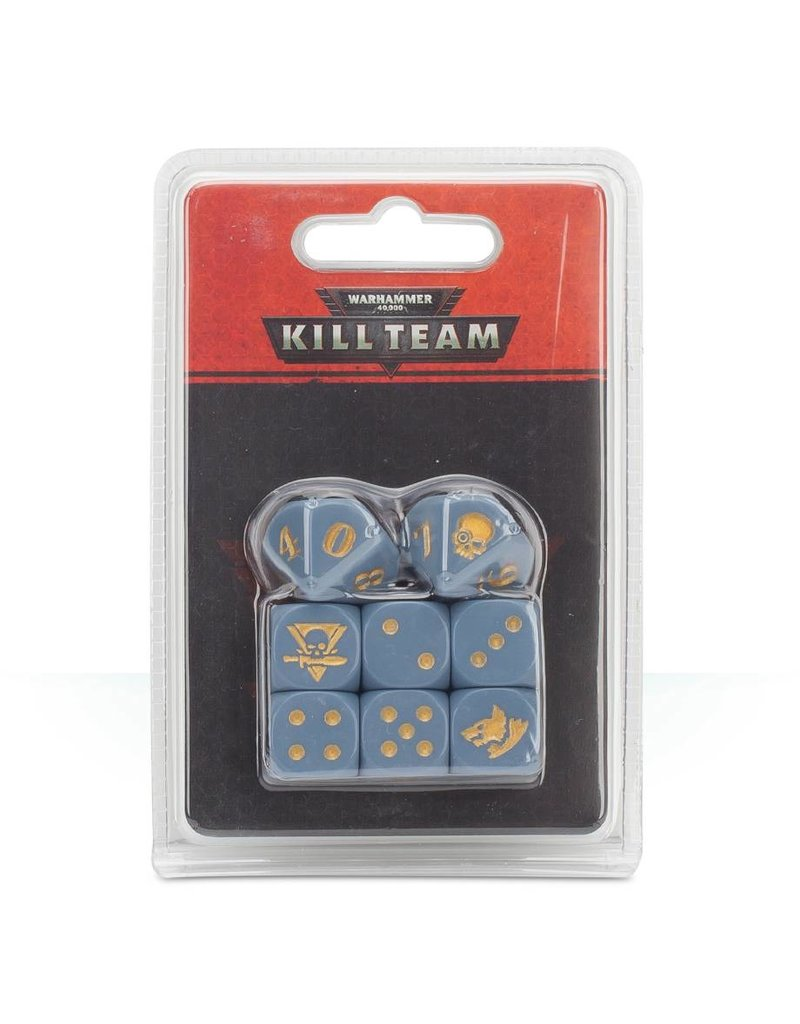 Games Workshop Warhammer 40k Kill Team: Space Wolves Dice
