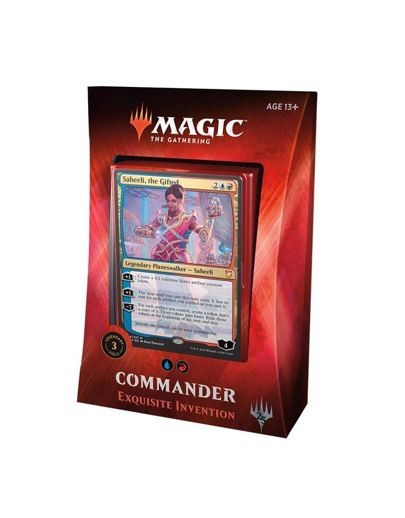 Wizards of the Coast Magic The Gathering: Commander 2018 - Exquisite Invention