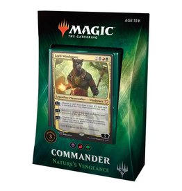 Wizards of the Coast MTG: Commander 2018 - Nature's Vengeance