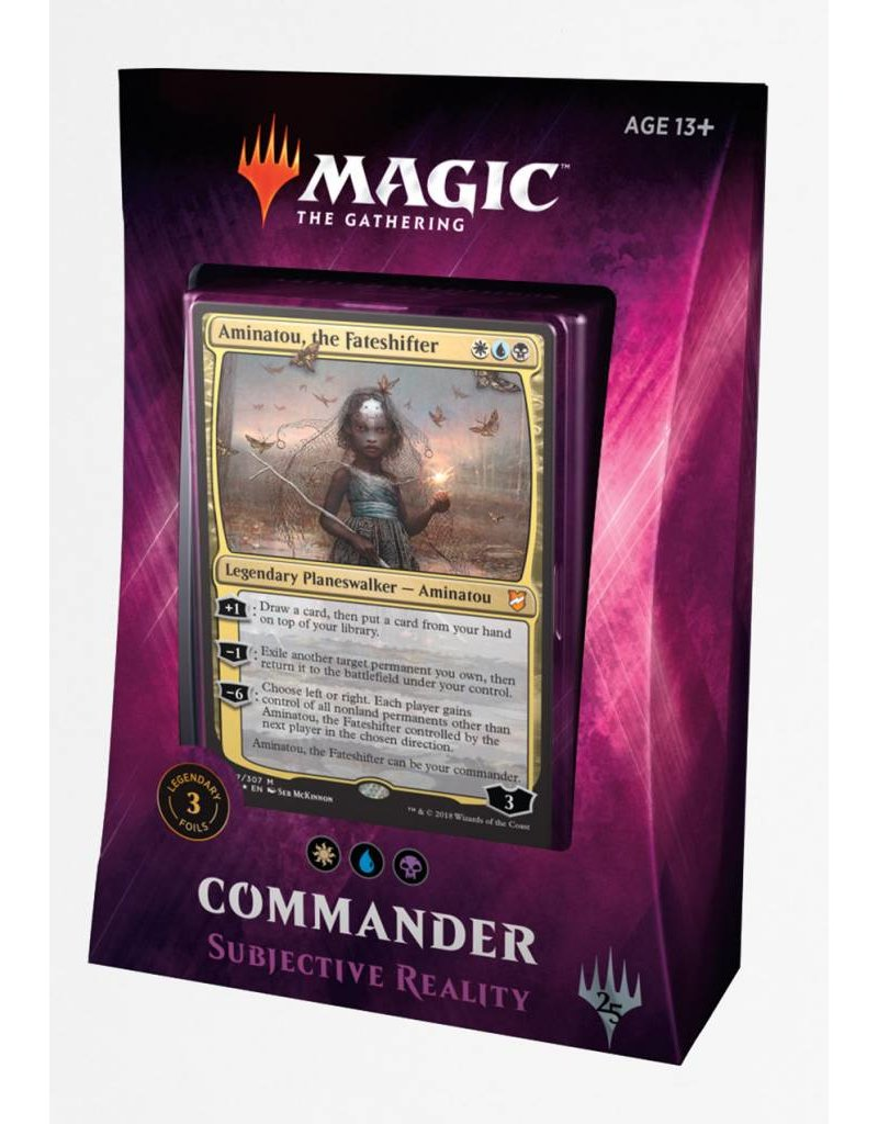Wizards of the Coast Magic The Gathering: Commander 2018 - Subjective Reality