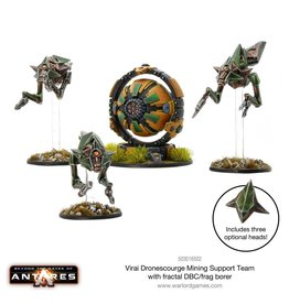 Warlord Games Dronescourge Mining Support Team with Fractal DBC