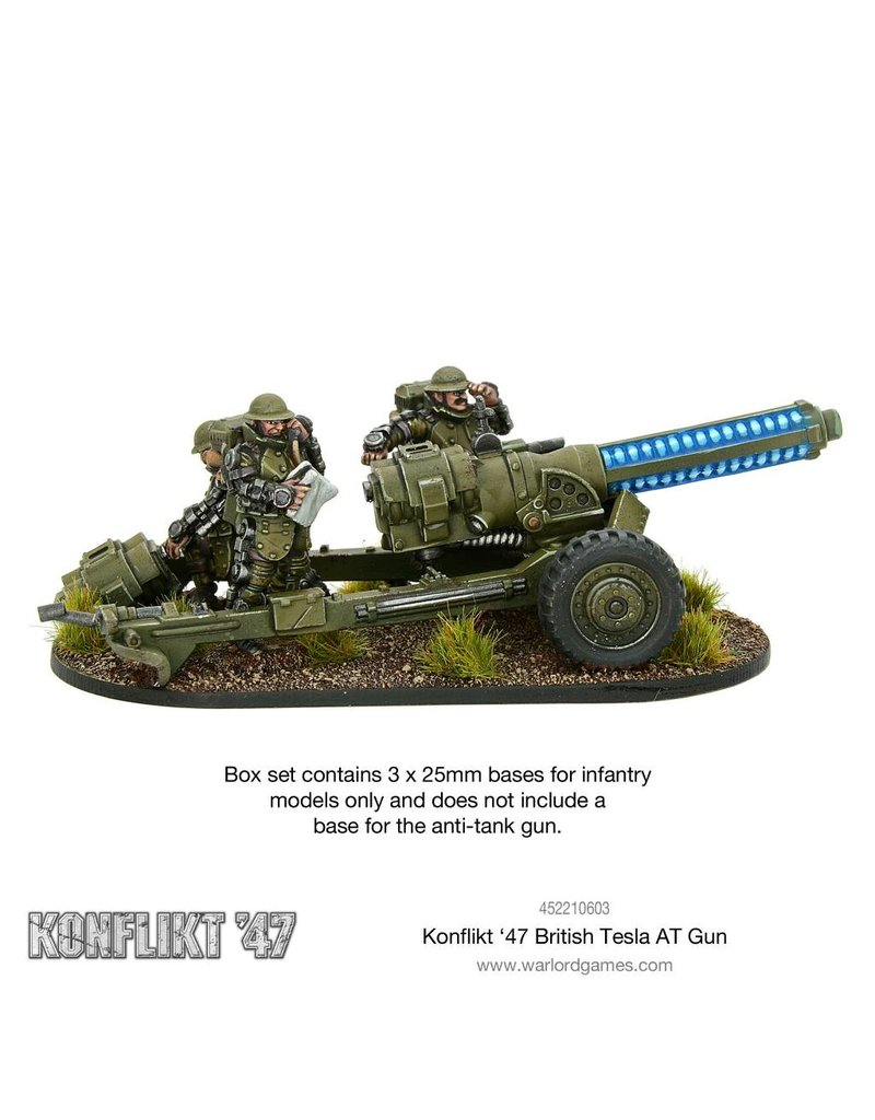 Warlord Games British Tesla Anti-Tank Gun Box Set