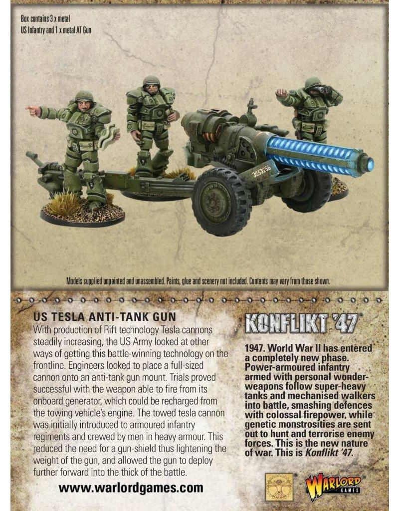 Warlord Games American Tesla Anti-Tank Gun