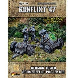 Warlord Games Towed Schwerefeld Projektor