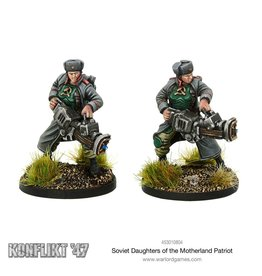 Warlord Games Daughters of the Motherland Patriot Team