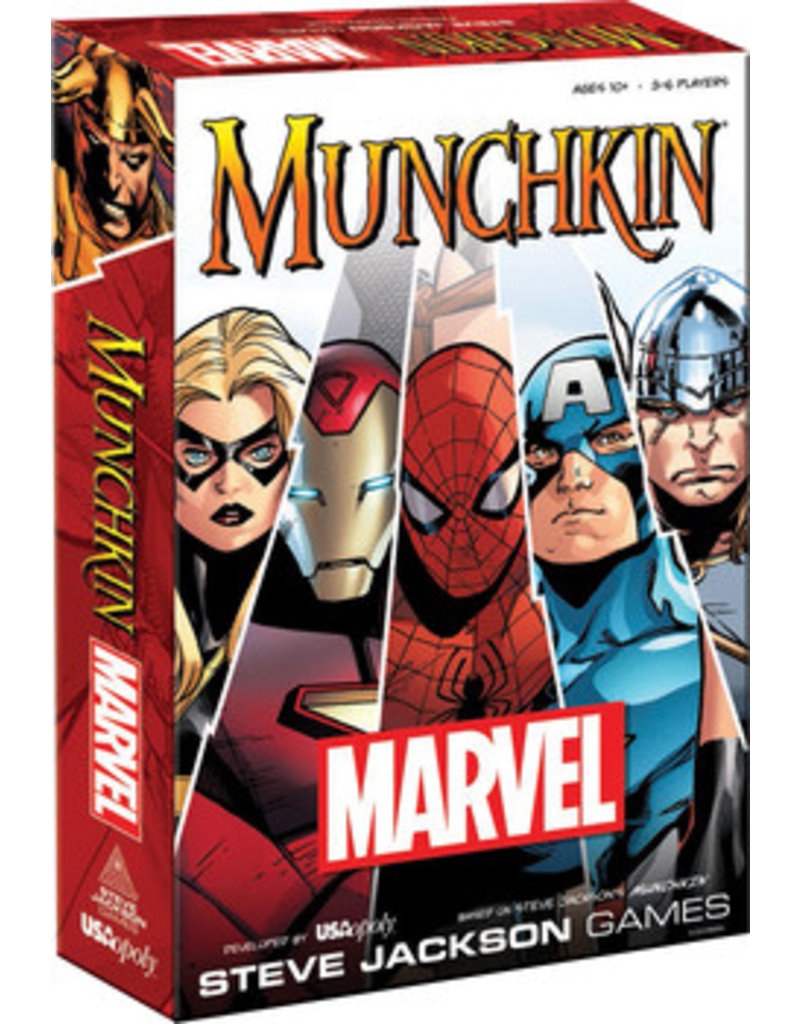 USAopoly Munchkin: Marvel
