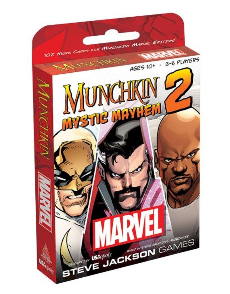 USAopoly Munchkin Marvel 2: Mystic Mayhem