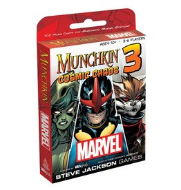 USAopoly Munchkin Marvel 3 Cosmic Chaos