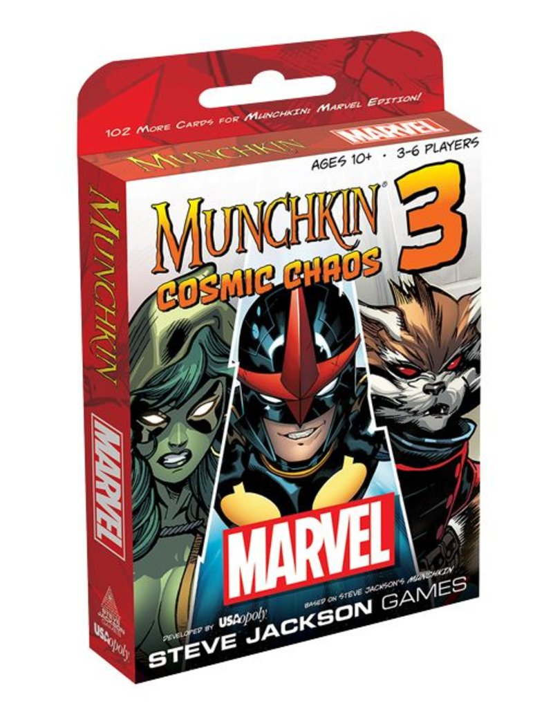 USAopoly Munchkin Marvel 3: Cosmic Chaos