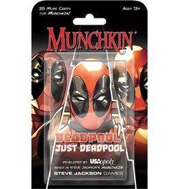 USAopoly Munchkin Deadpool Just Deadpool