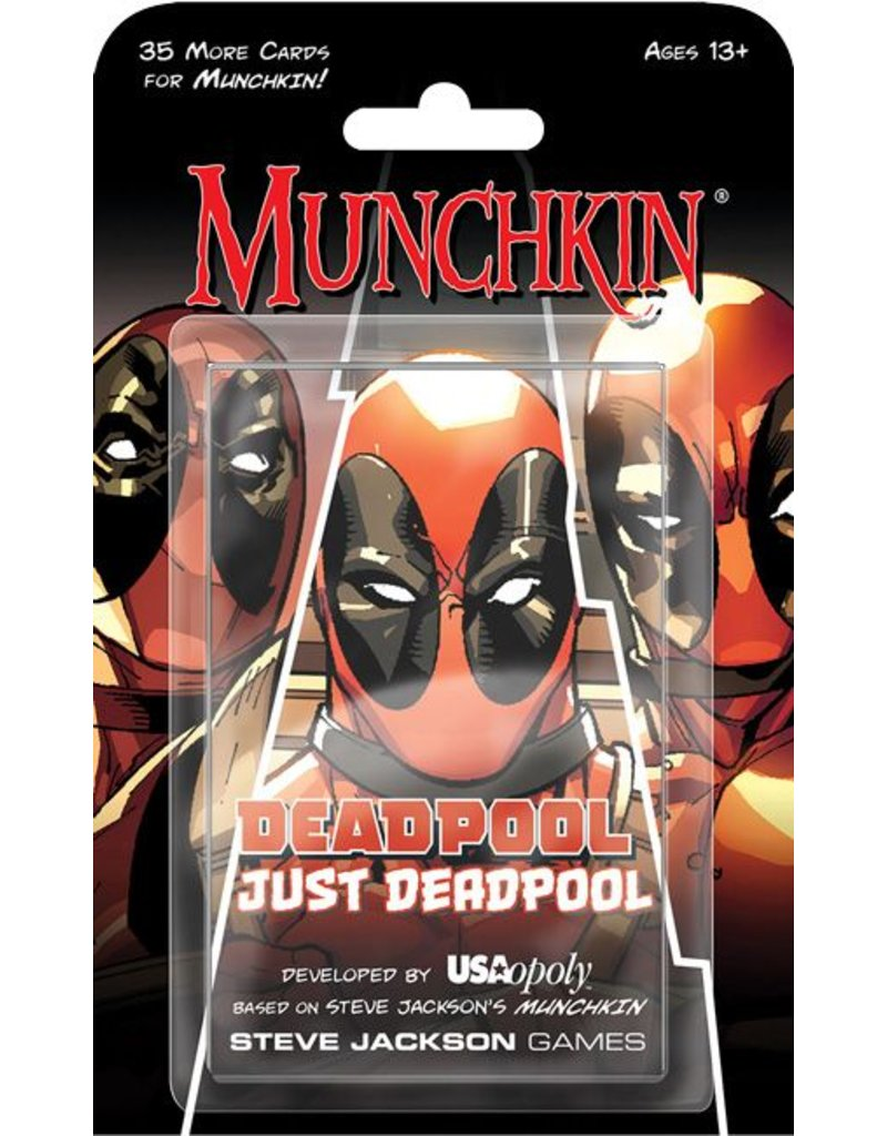 USAopoly Marvel Munchkin: Deadpool Just Deadpool