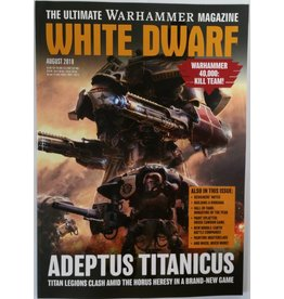 Games Workshop White Dwarf August 2018