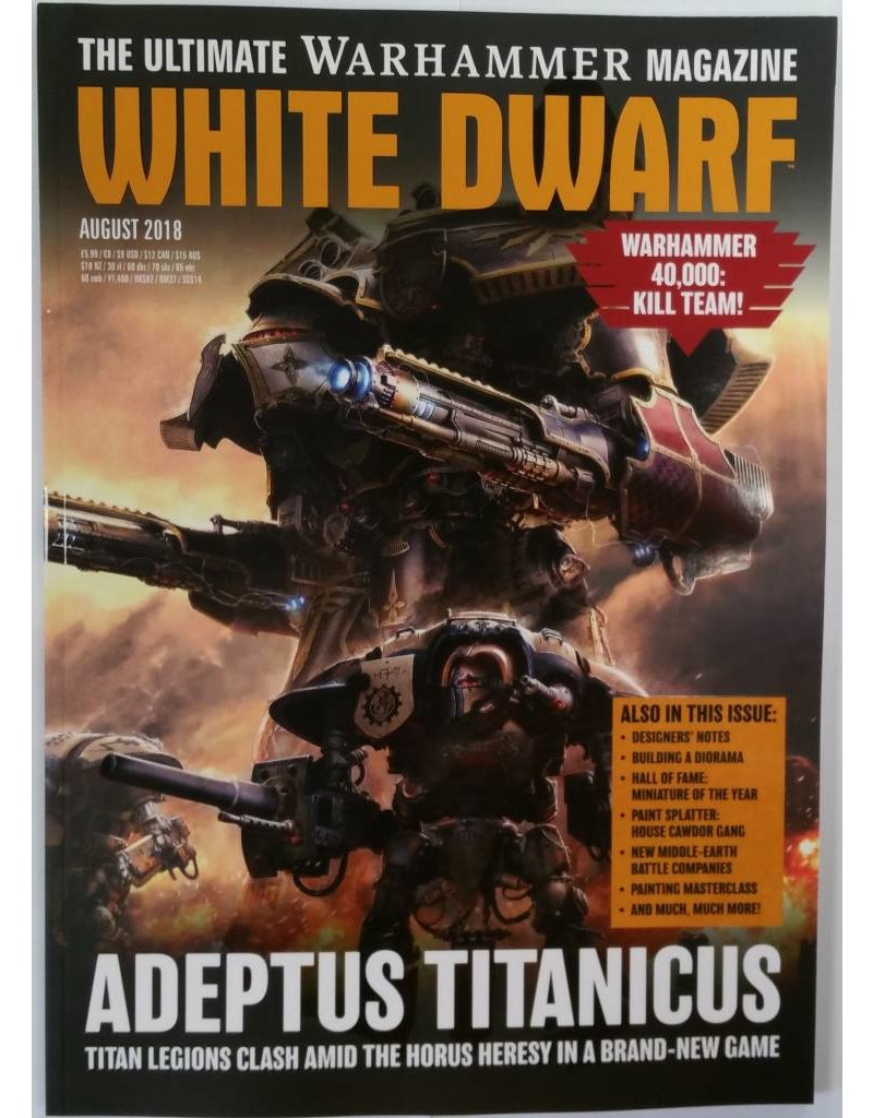 Games Workshop White Dwarf August 2018 (EN)