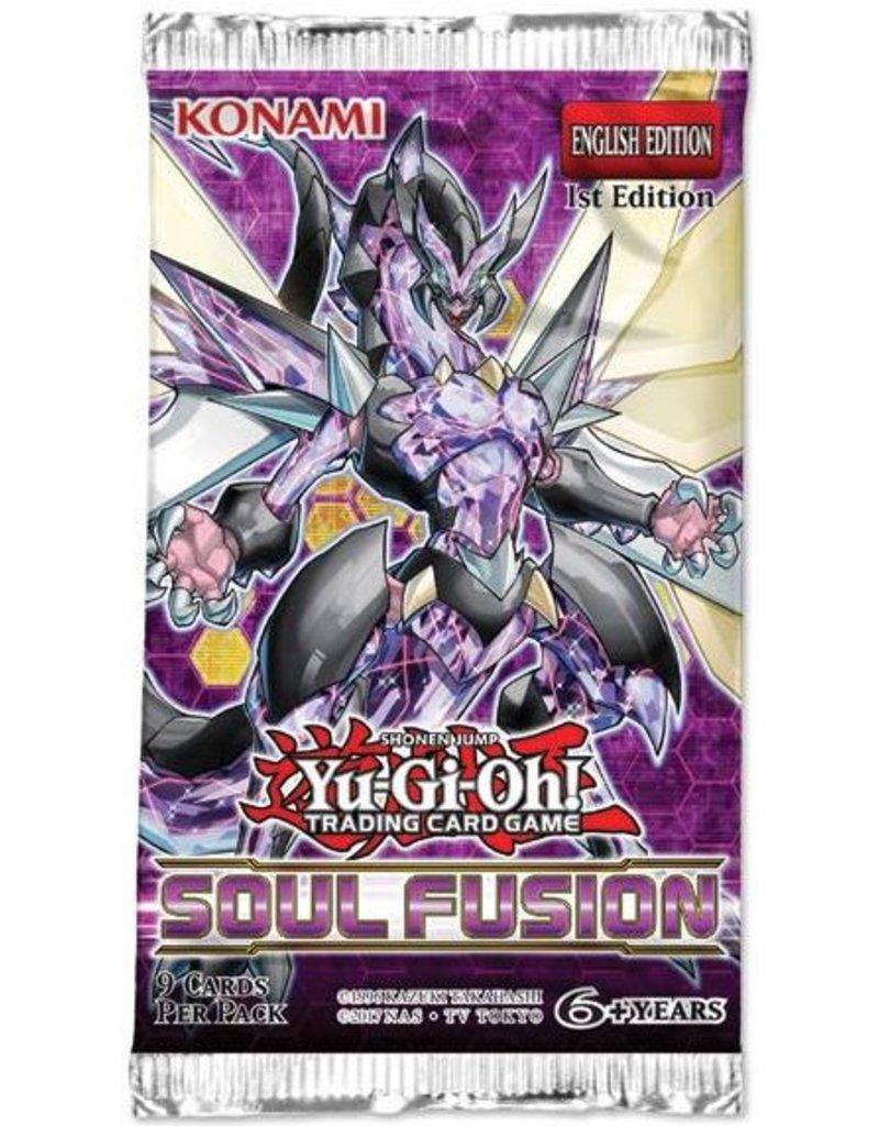 Konami Yugioh TCG Soul Fusion 1st Edition Booster Pack