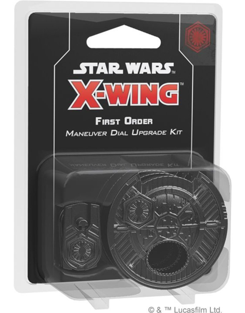 Fantasy Flight Games Star Wars X-Wing: First Order Maneuver Dial Upgrade Kit