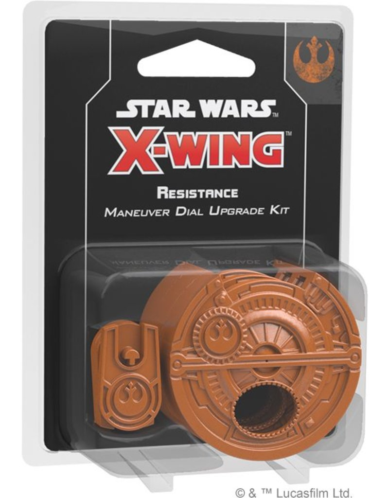 Fantasy Flight Games Star Wars X-Wing: Resistance Maneuver Dial Upgrade Kit