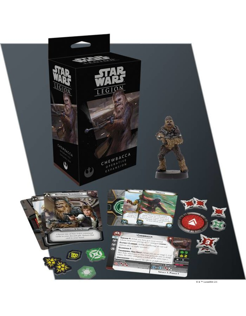 Fantasy Flight Games Star Wars Legion: Chewbacca Operative Expansion