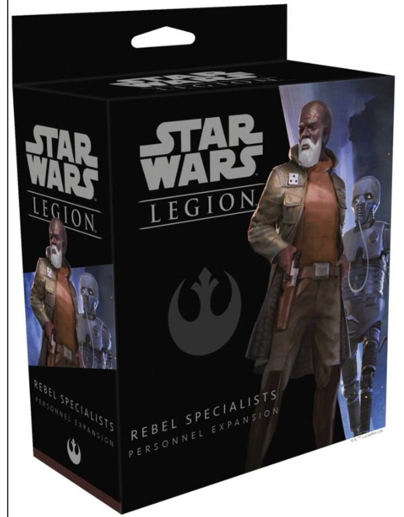 Fantasy Flight Games Star Wars Legion: Rebel Specialists Personnel Expansion