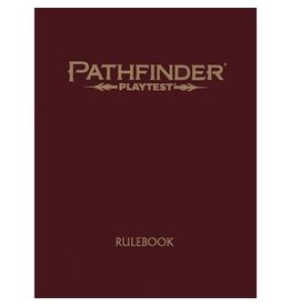 Paizo Pathfinder 2nd Edition Playtest Rulebook (Special Edition)