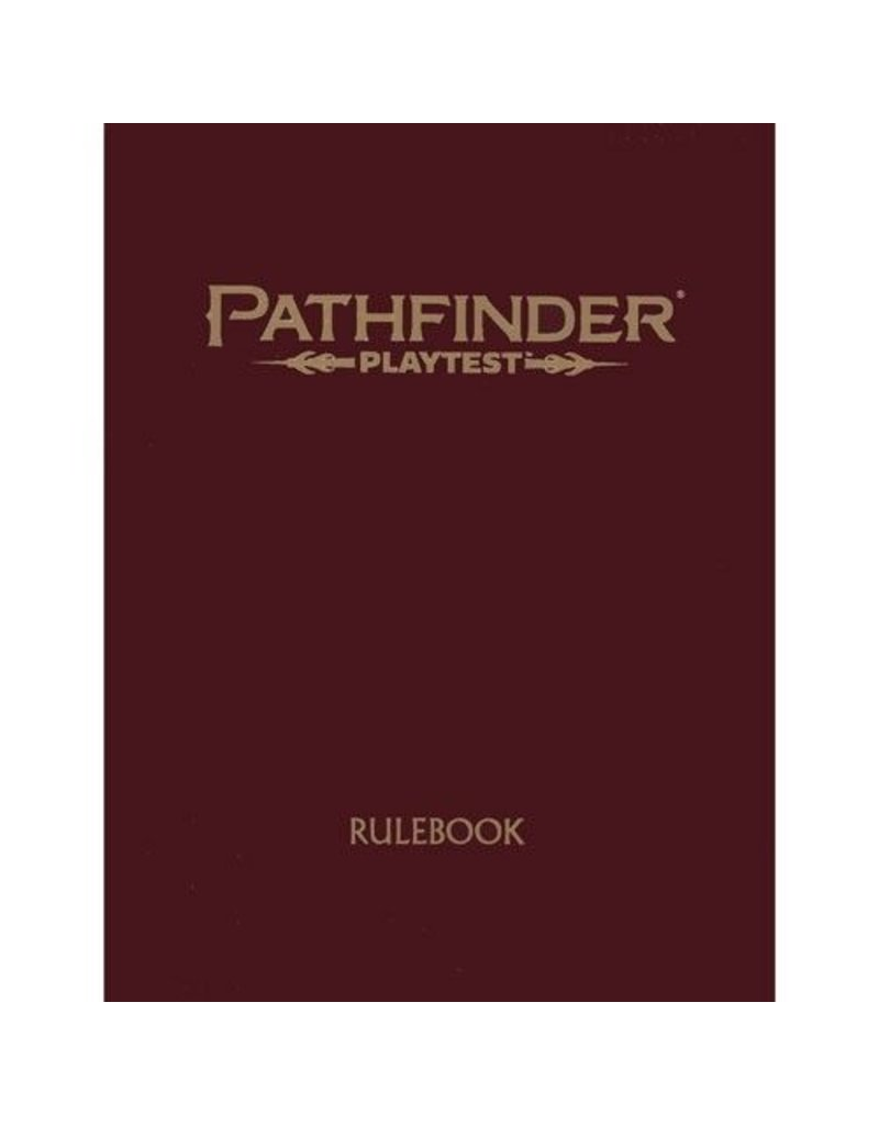 Paizo Pathfinder RPG 2nd Edition: Playtest Rulebook (Special Edition)