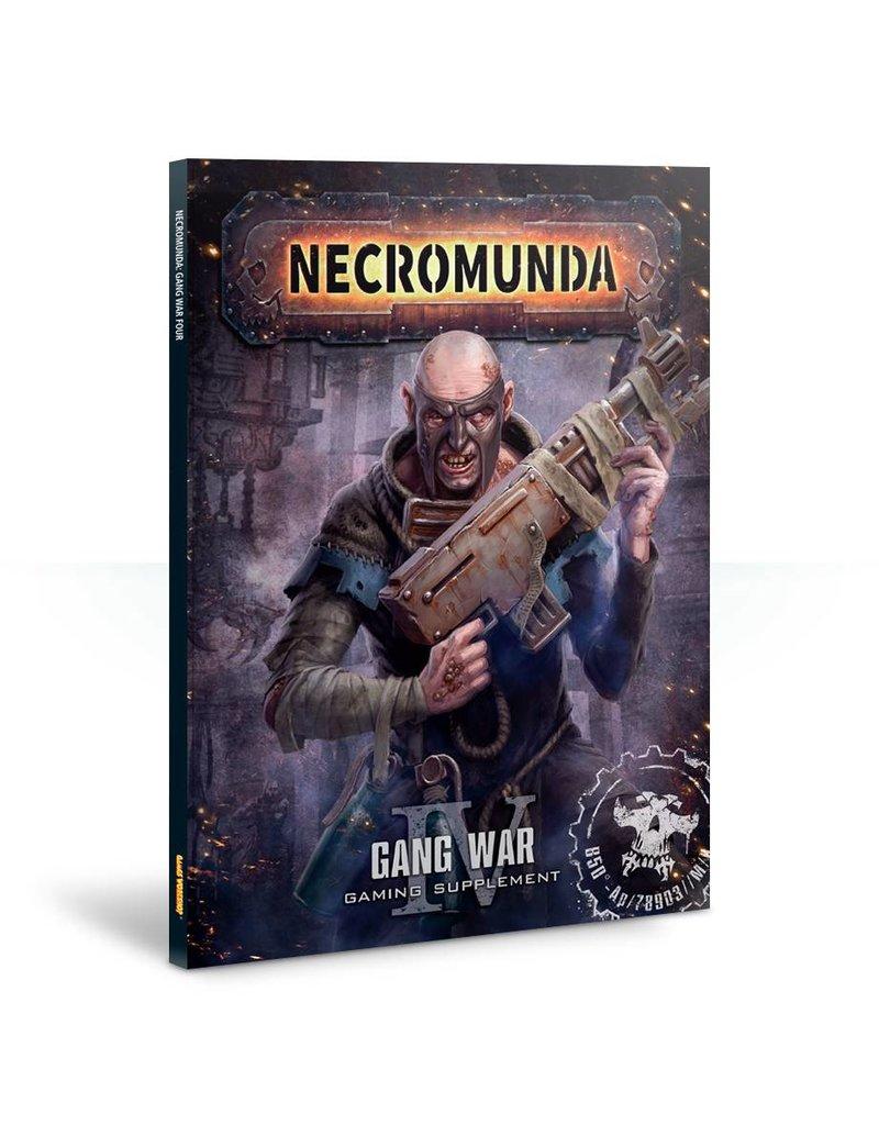 Games Workshop Necromunda: Gang War 4 (ENGLISH)