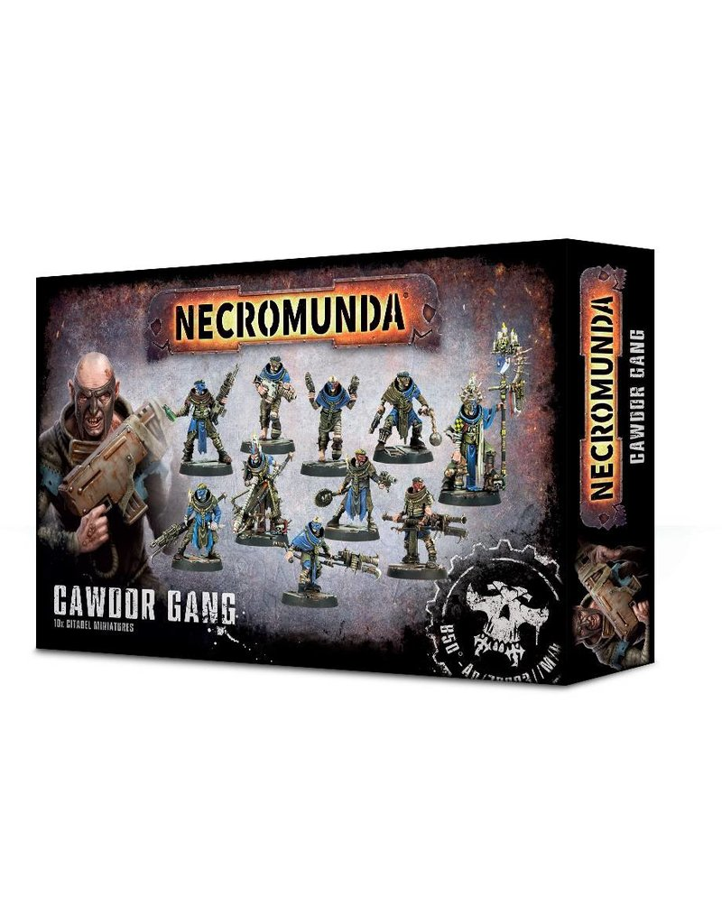 Games Workshop Necromunda Cawdor Gang