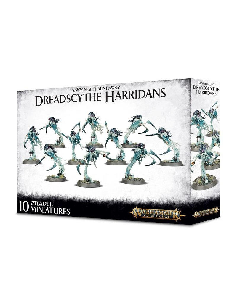 Games Workshop Nighthaunt Dreadscythe Harridans