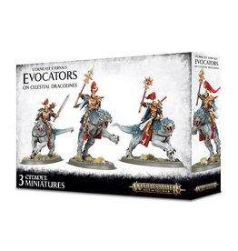 Games Workshop Evocators On Celestial Dracolines