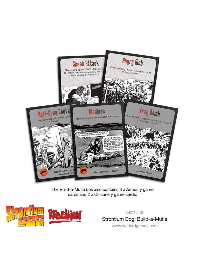 2000 AD Strontium Dog: Build-a-Mutie