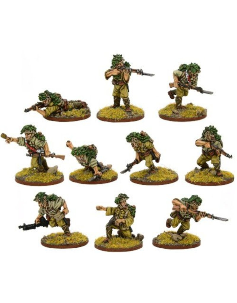 Warlord Games Bolt Action: Japanese Veteran Infantry Squad