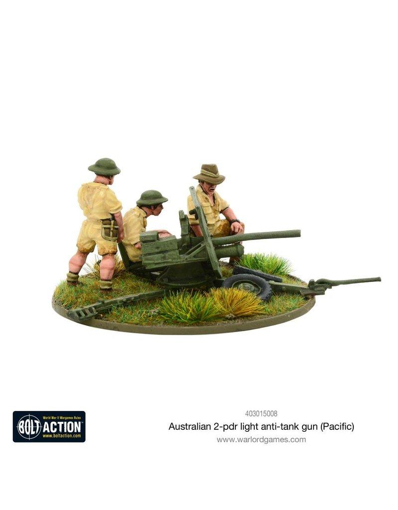 Warlord Games Bolt Action: Australian 2-pdr Light Anti-tank Gun (Pacific)
