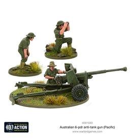 Warlord Games Australian 6-pdr Anti-tank Gun
