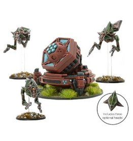 Warlord Games Deep Mining Team with Fractal Disintegrator