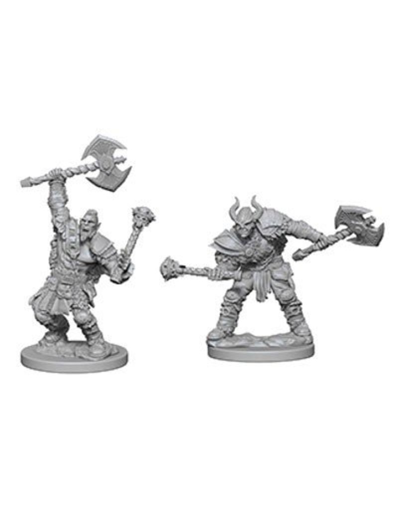 Wizkids Pathfinder Deep Cuts: Half-Orc Male Barbarian Blister Pack (Wave 3)