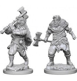 Wizkids Human Male Barbarian (Wave 1)