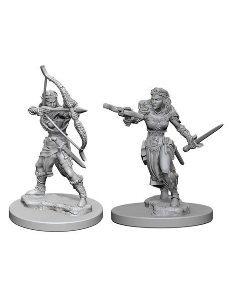 Wizkids Nolzur's Marvelous Miniatures: Elf Female Ranger Blister Pack