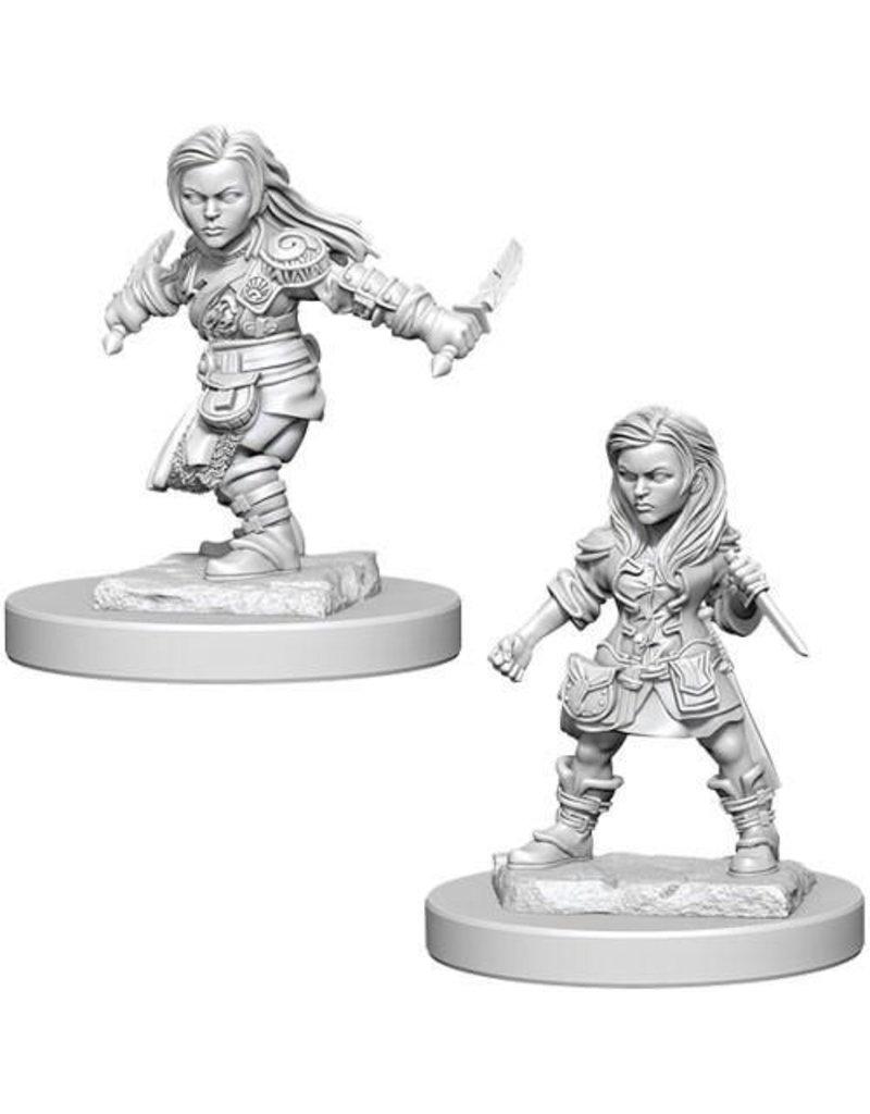Wizkids Nolzur's Marvelous Miniatures: Halfling Female Rogue Blister Pack (Wave 1)