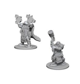 Wizkids Dwarf Male Cleric (Wave 1)