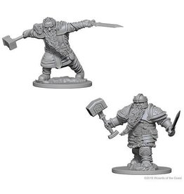 Wizkids Dwarf Male Fighter (Wave 1)
