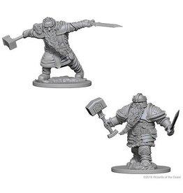 Wizkids Dwarf Male Fighter