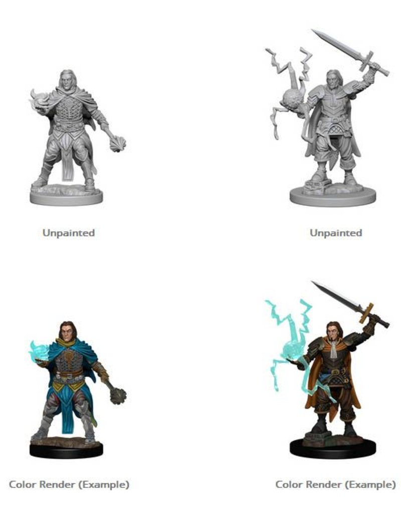 Wizkids Pathfinder Deep Cuts: Human Male Cleric Blister Pack (Wave 1)