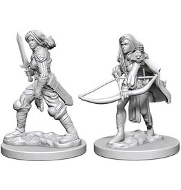 Wizkids Human Female Fighter