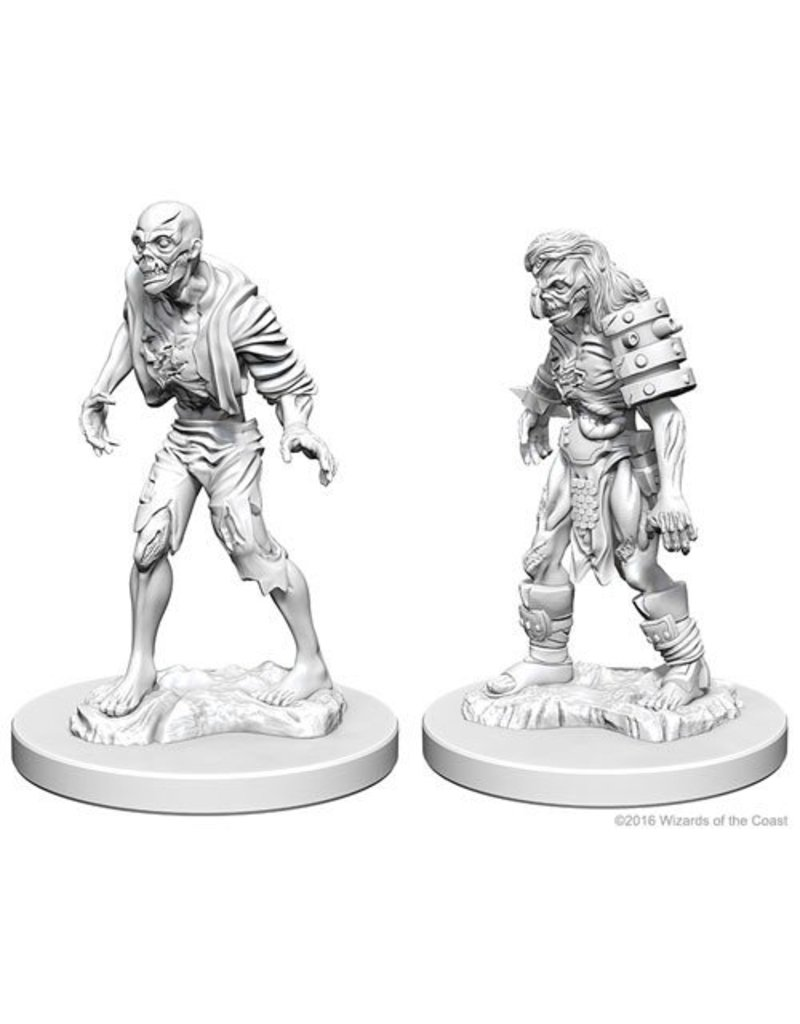Wizkids Nolzur's Marvelous Miniatures: Zombies Blister Pack