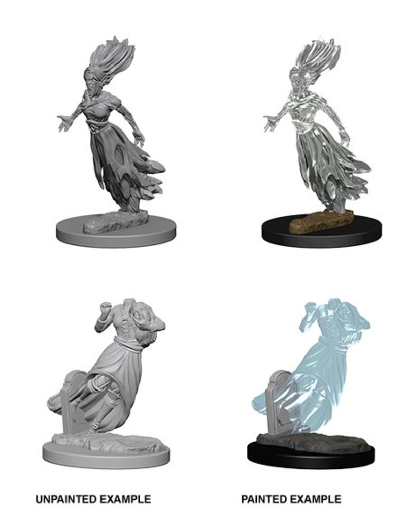 Wizkids Nolzur's Marvelous Miniatures: Ghosts Blister Pack (Wave 1)