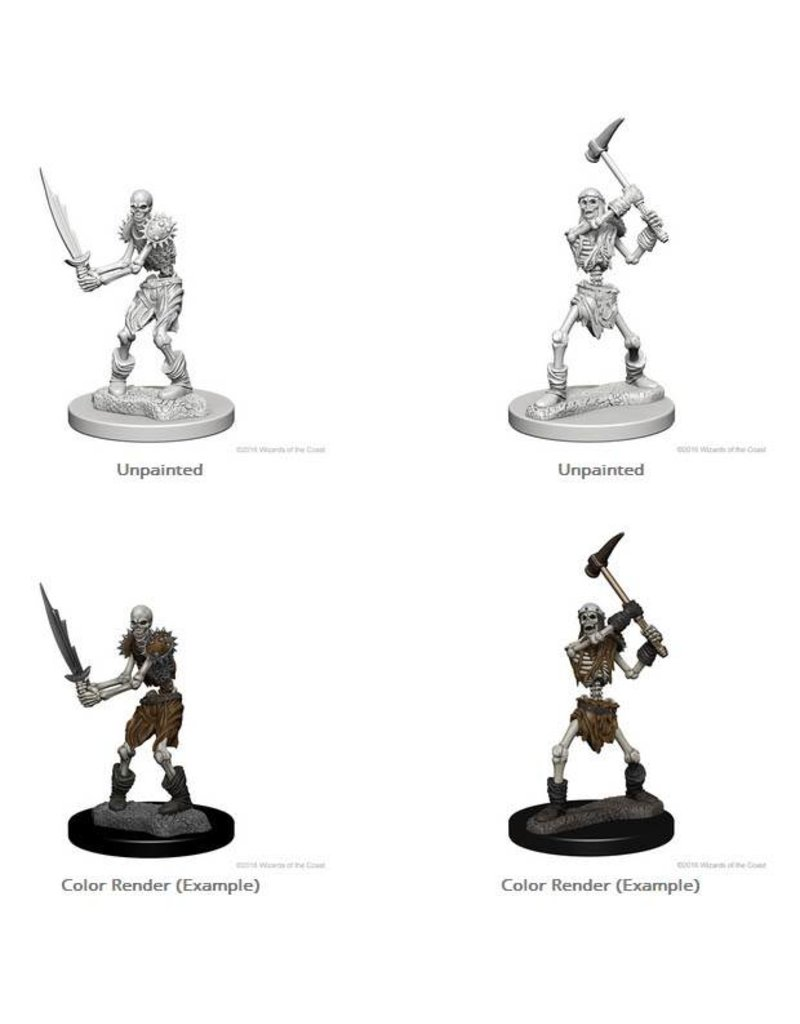 Wizkids Nolzur's Marvelous Miniatures: Skeletons Blister Pack
