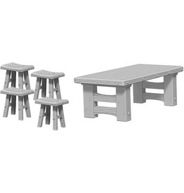 Wizkids Wooden Table & Stools (Wave 4)